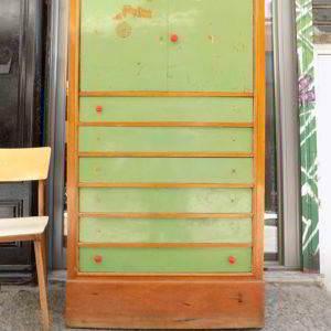 συρταριέρα ντουλάπι φορμάικα 70ς μεταχειρισμένο vintage