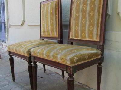καρέκλες κλασικές ξύλινες τραπεζαρίας μεταχειρισμένες vintage