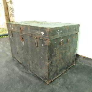 μπαούλο αμερικάνικο μεταχειρισμένο industrial vintage