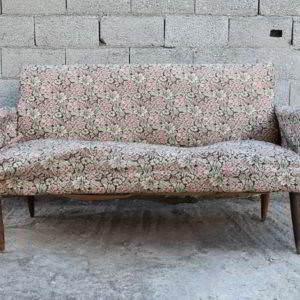 καναπές διθέσιος dansh design μεταχειρισμένος vintage retro