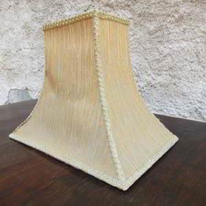 καπέλο φωτιστικού υφασμάτινο αμπαζούρ μεταχειρισμένο vintage retro