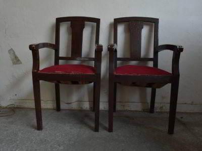 καρεκλοπολυθρόνες ξύλινες κλασικές μεταχειρισμένες vintage retro