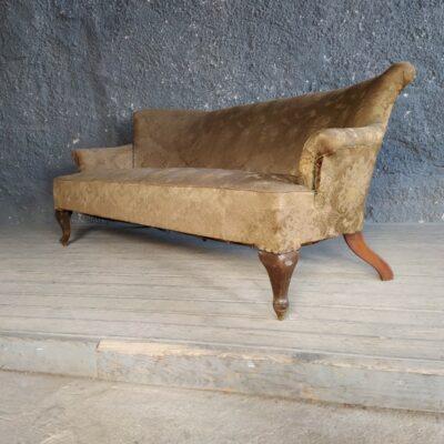 Καναπές με υφασμάτινη ταπετσαρία