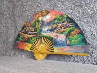 Βεντάλια τοίχου ιαπωνική ζωγραφιστή